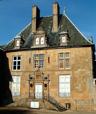 Denis Diderot House of Enlightenment - Image: Langres Hôtel du Breuil de Saint Germain 3