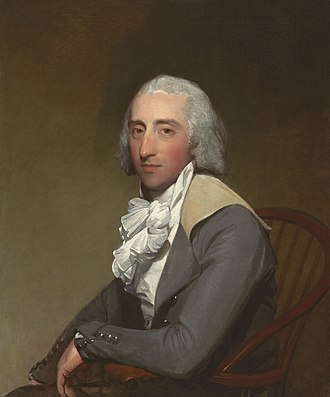 Henry Cruger - Portrait of Cruger's son-in-law, Lawrence Reid Yates, by Gilbert Stuart.