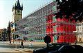 Lešení, Staroměstské náměstí, Praha (2001).jpg