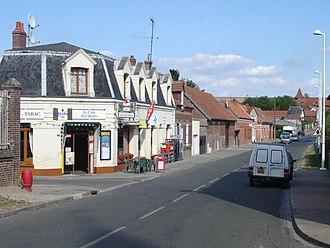 Le Hamel, Somme - Image: Le Hamel (Somme) Grande rue