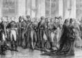 Le général Hédouville, ambassadeur de France à Moscou à une réception diplomatique du tsar Alexandre.png