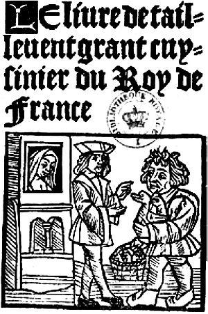Le Viandier - Le Viandier de Taillevant, from a 15th-century edition.