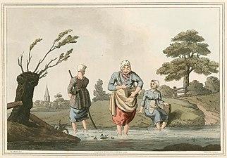 Leech Finders Costume of Yorkshire 1814