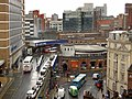 Leeds Railway Station concourse from Multi Storey Car Park - geograph.org.uk - 760607.jpg