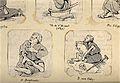 Left, a beggar with crippled legs; right, a beggar with crip Wellcome V0020314.jpg