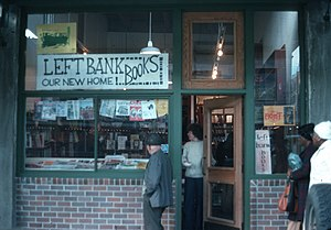 Left Bank Books - Left Bank Books in 1975