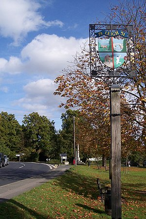 Leigh, Kent - Image: Leigh Village Sign geograph.org.uk 1545972