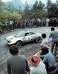 Lele Pinto - Lancia Stratos HF Alitalia (1975 Rallye San Martino di Castrozza).jpg