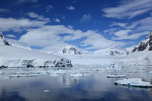 Antarktída je vlastne studená púšť