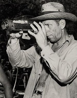 Leonard Smith (cinematographer) - Image: Leonard Smith Clarence Brown in The Yearling cropped