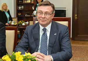 Leonid Kozhara - Image: Leonid Kozhara Senate of Poland