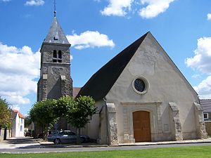 Les Alluets-le-Roi - Saint-Nicolas church