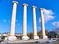 Les columnes d'en Puig i Cadafalch el dia de la seva reinauguració - panoramio.jpg