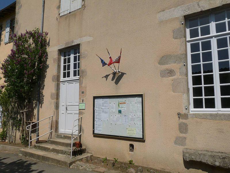 Mairie de Lesterps, Charente, France