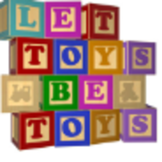 Let Toys Be Toys - Image: Let Toys Be Toys (logo)