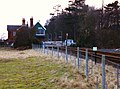Level-crossing and signalbox at Rauceby station - geograph.org.uk - 2161910.jpg