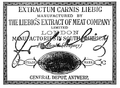Liebig Trademark 185 Extractum Carnis Liebig 1876.png