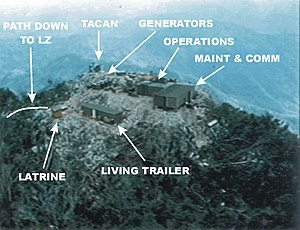Battle of Lima Site 85 - The configuration of Lima Site 85.