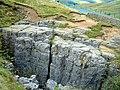 Limestone rocks beside Buttertubs pass - geograph.org.uk - 1472799.jpg