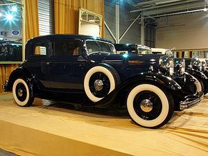 Lincoln Motor Company - 1932 Lincoln KA Series Victoria Coupe