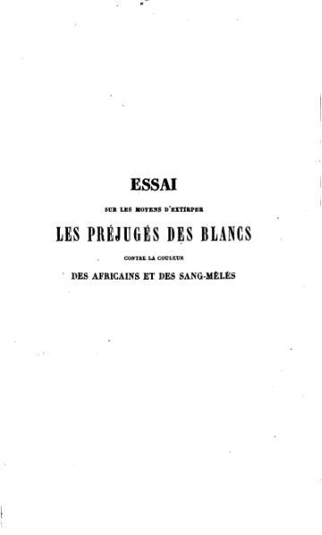 File:Linstant - Moyens d'extirper les préjugés des blancs, 1841.djvu