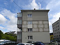Linz-Pöstlingberg - Sgraffito Leonfeldner Straße - von Peter Kubovsky.jpg