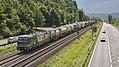 Linz Am Rhein LTE 193 203 met huckepacktrein (36184404125).jpg