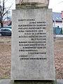 Liptovský Mikuláš ((Palúdzka) text na Pamätníku Jánošíka2.jpg