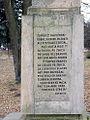 Liptovský Mikuláš (Palúdzka) text na Pamätníku Jánošíka.jpg