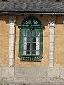 Listed house, ornamented wall. - 31 Szent István Street, Bia, Biatorbágy, Pest County, Hungary.jpg