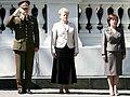 Lithuanian army commander Arvydas Pocius Presidential Inauguration 1.jpg