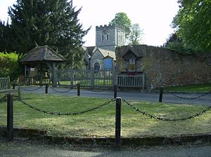 Little Marlow - Image: Little Marlow Church