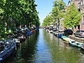 Little boats in canal Amsterdam 2009.jpg