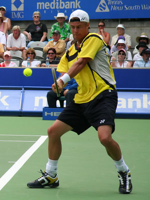 Brisbane International - Former World No. 1 Lleyton Hewitt won the tournament once in (2014)