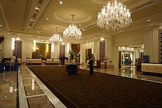 Trump International Hotel Las Vegas - Image: Lobby Trump International Hotel Las Vegas (38532499500)