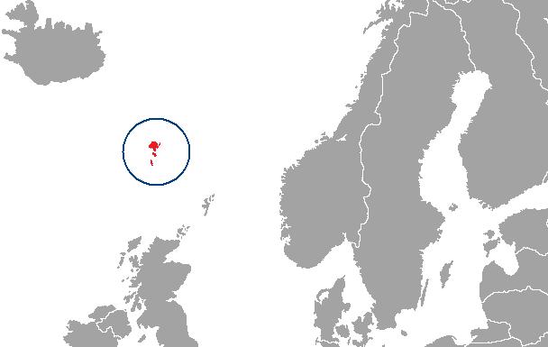 Položaj Føroyara
