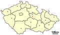 Location of Czech city Nasavrky.png