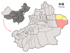 Yizhou District, Hami