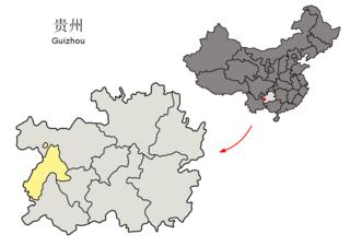 Liupanshui Prefecture-level city in Guizhou, Peoples Republic of China