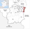 Locator map of Kanton Épinay-sous-Sénart 2019.png