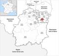 Locator map of Kanton Évry 2019.png