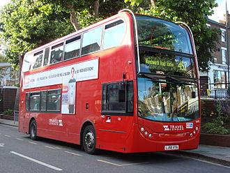 Travel London - Alexander Dennis Enviro400 on route 452 in June 2007