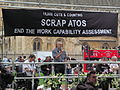 London September 28 2013 012 Jeremy Corbyn speaking at ATOS Demo.jpg