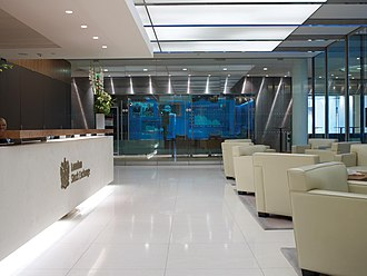 London Stock Exchange - London Stock Exchange office interior