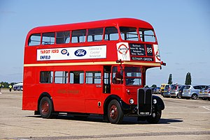 London Transport bus RT2293 (KGU 322), 2010 North Weald bus rally.jpg