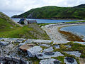 Looking over the limestone kilns, Ard Neakie, Loch Eriboll.jpg