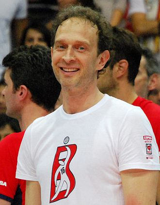 Olympiacos CFP (men's volleyball) - Image: Lorenzo Bernardi 2 (cropped)