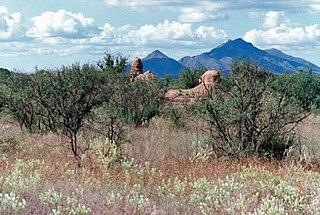 Mission Los Santos Ángeles de Guevavi historic mission ruins in Arizona, USA