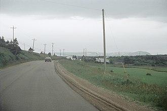 Lourdes, Newfoundland and Labrador - Image: Lourdes NFLD02
