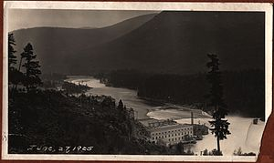 FortisBC - Lower Bonnington power plant in 1925